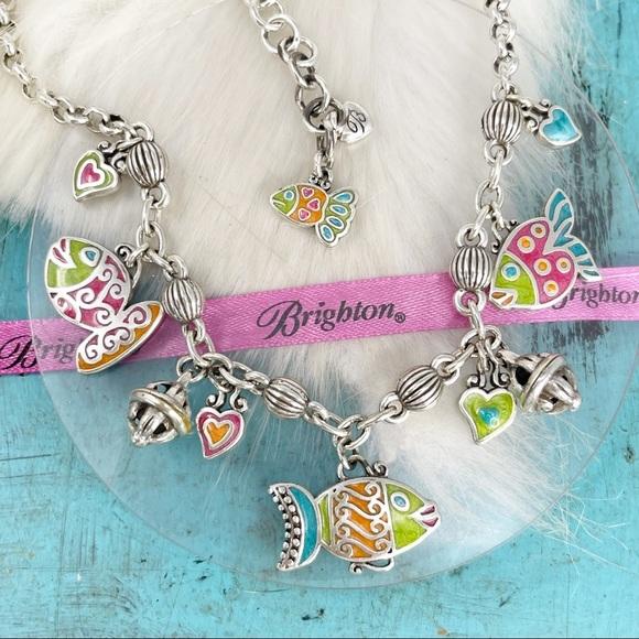 Brighton Tropical Fantasy Fish Charm Necklace